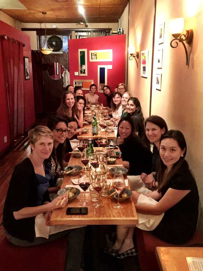 Women in AI Dinner Attendees